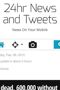 24hrs News and Tweets - screenshot thumbnail