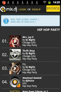 Hip Hop Party by mix.dj - screenshot thumbnail