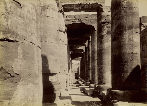 [Abydos, Exterior of the Temple] / [Abydos, Exterieur du Temple]