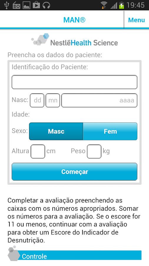 NHScalc Brasil - screenshot