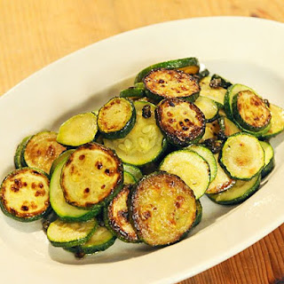 Zucchini with Anchovies and Capers.