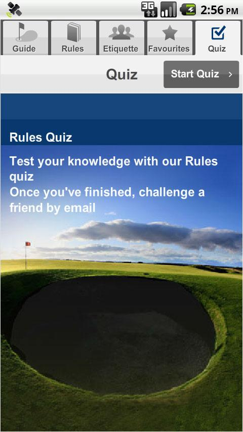 The R&A Rules of Golf - screenshot