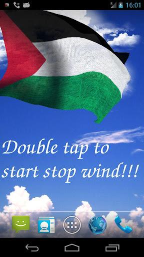 3D Palestine Flag LWP