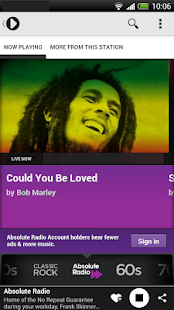 Radioplayer - Free UK Radio- screenshot thumbnail