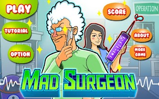 Screenshot of Mad Surgeon HD