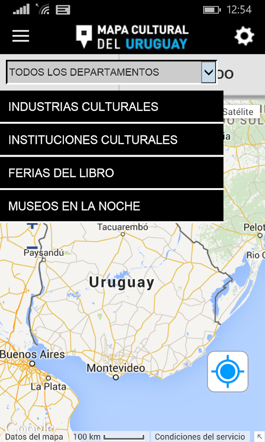 Mapa Cultural- screenshot