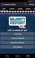 Screenshot of Majority Report
