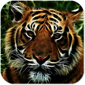 Neon Tiger Live Wallpaper +