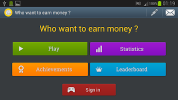 Screenshot of Who want to earn money ?