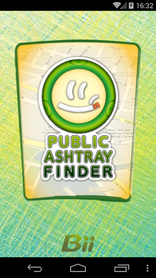 Public Ashtray Finder- screenshot