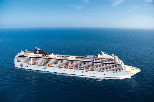 MSC-Orchestra-2 - Whether sailing in the Mediterranean or Caribbean, to Dubai or northern Europe, MSC Orchestra is the epitome of elegance.