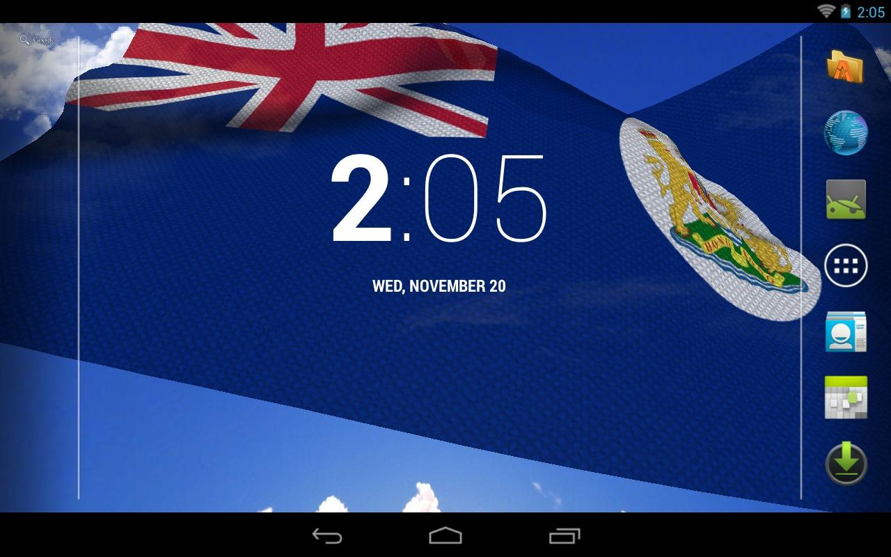 3d Hong Kong 97 Flag Lwp Android Apps On Google Play