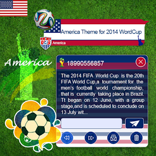 American Theme 2014 WorldCup