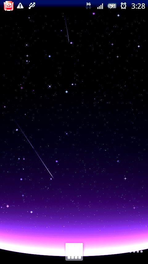 Shooting Stars Live Wallpaper - screenshot