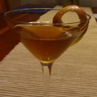 Warm Ginger Appletini.