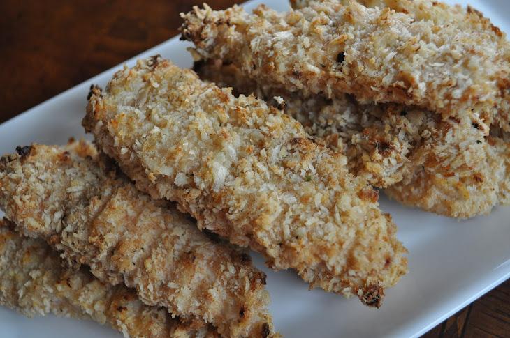 Parmesan Ranch Crispy Chicken Fingers