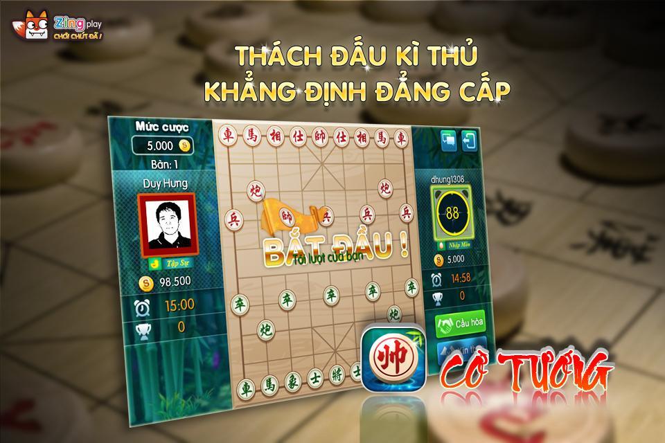 Co Tuong - Cờ Tướng - ZingPlay - screenshot
