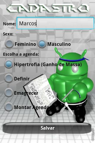 AcaDroid - Bodybuilding Guide- screenshot