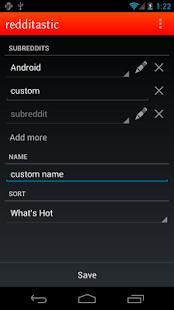 redditastic – reddit widget- screenshot thumbnail