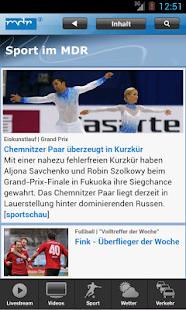 MDR Nachrichten- screenshot thumbnail