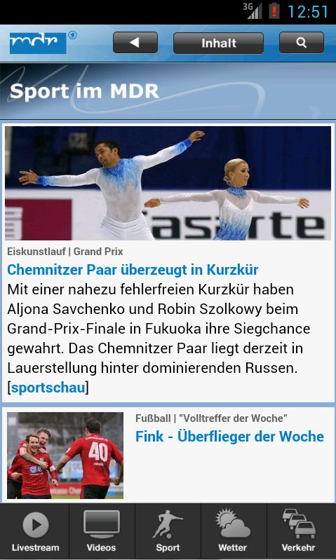 MDR Nachrichten- screenshot