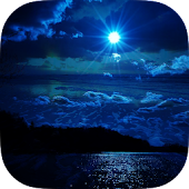 Sea Night Sky Live Wallpaper