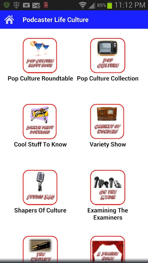 The Podcaster Life & Culture - screenshot
