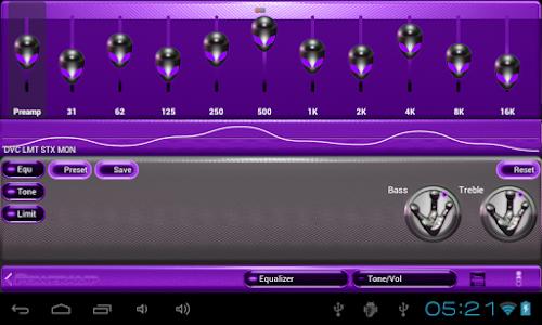 poweramp skin alien purple v2.03