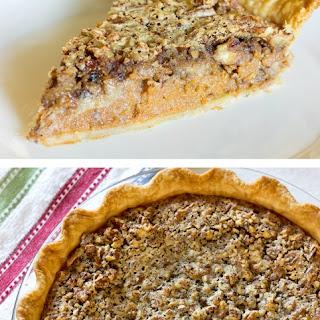 Maple Pecan Pumpkin Pie