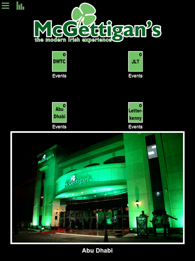 McGettigans - screenshot