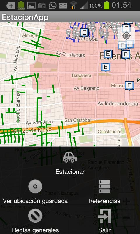 EstacionApp - screenshot