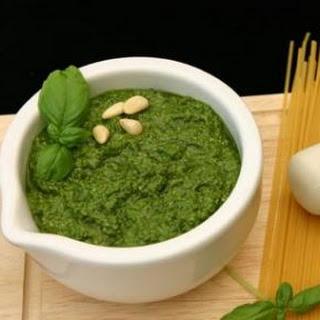 Low-fat Basil Pesto.