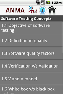 Software Testing Concepts- screenshot thumbnail