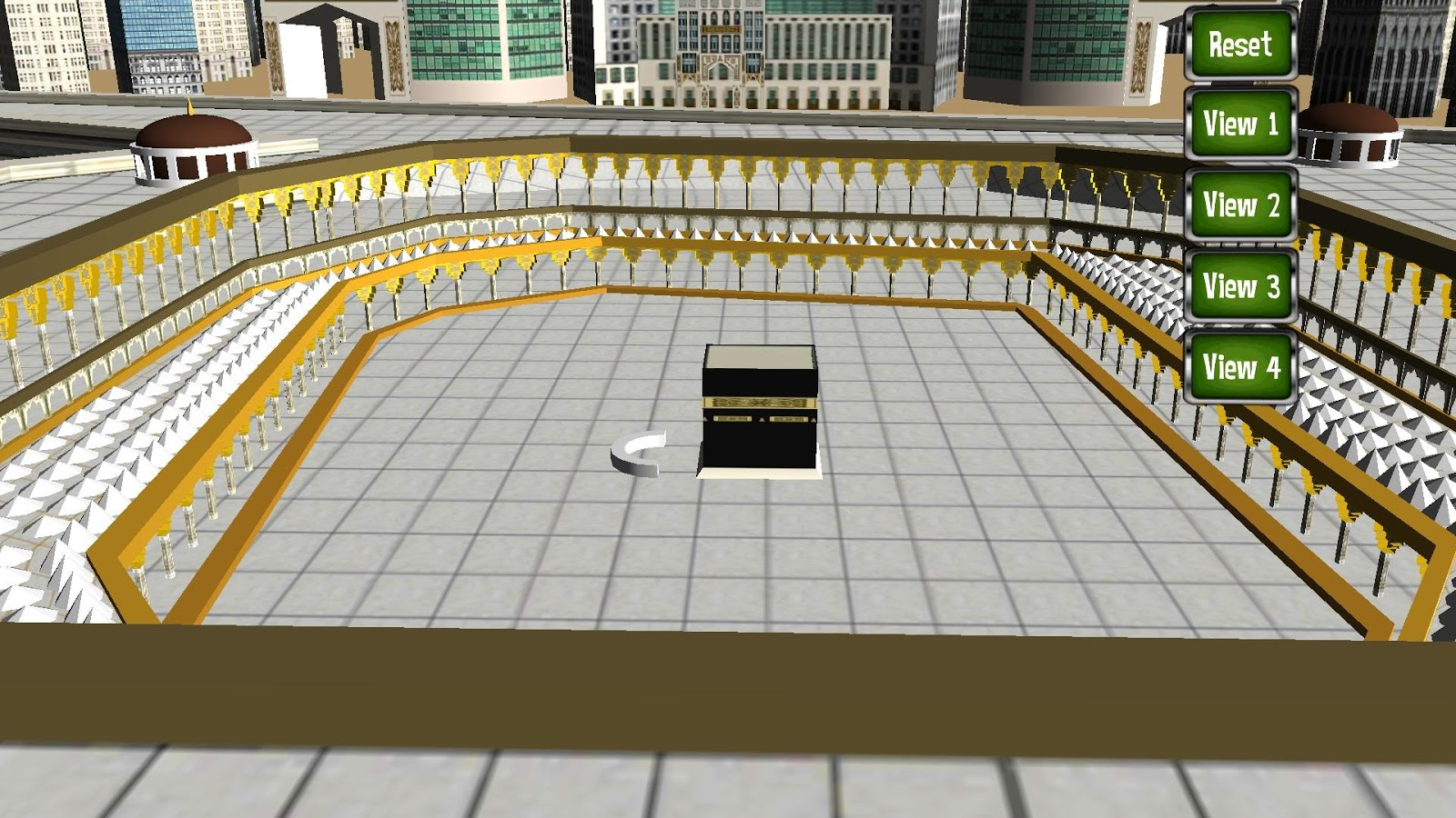 Mecca 3D (Makkah Virtual Tour) - screenshot