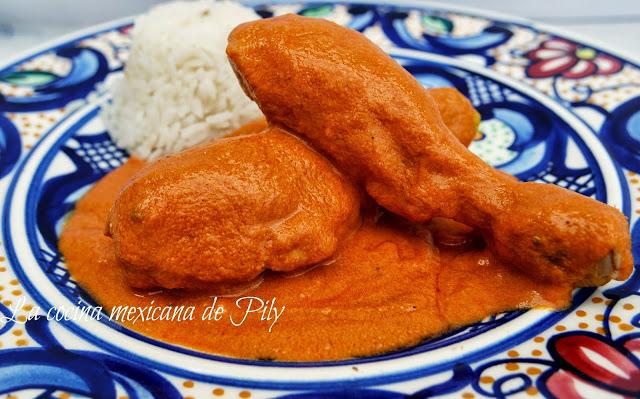 Encacahuatado Spicy Peanut Sauce with Chicken