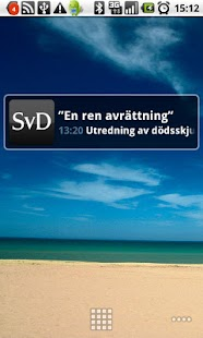 Top news from svd.se - screenshot thumbnail