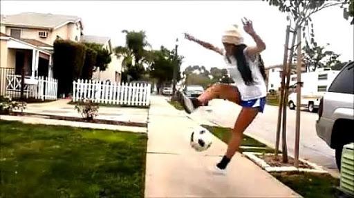 Mujeres en Fútbol Estilo Libre