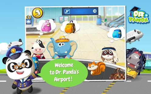Dr. Panda's Airport - screenshot thumbnail
