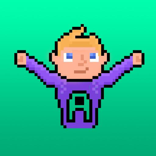 冒險App|Aqua Hero LOGO-3C達人阿輝的APP