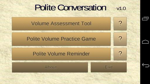 Polite Conversation