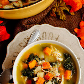 Harvest Chicken Quinoa Soup.