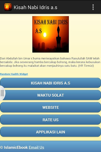 Kisah Nabi Idris a.s