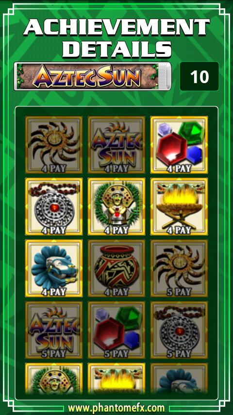 Aztec Sun Slot Machine - screenshot