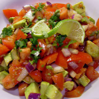 Tomato and Avocado Salad recipe – 125 calories