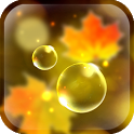 Autumn Bubbles LWP icon