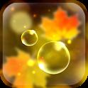 Autumn Bubbles LWP icon