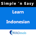 Learn Indonesian by WAGmob icon