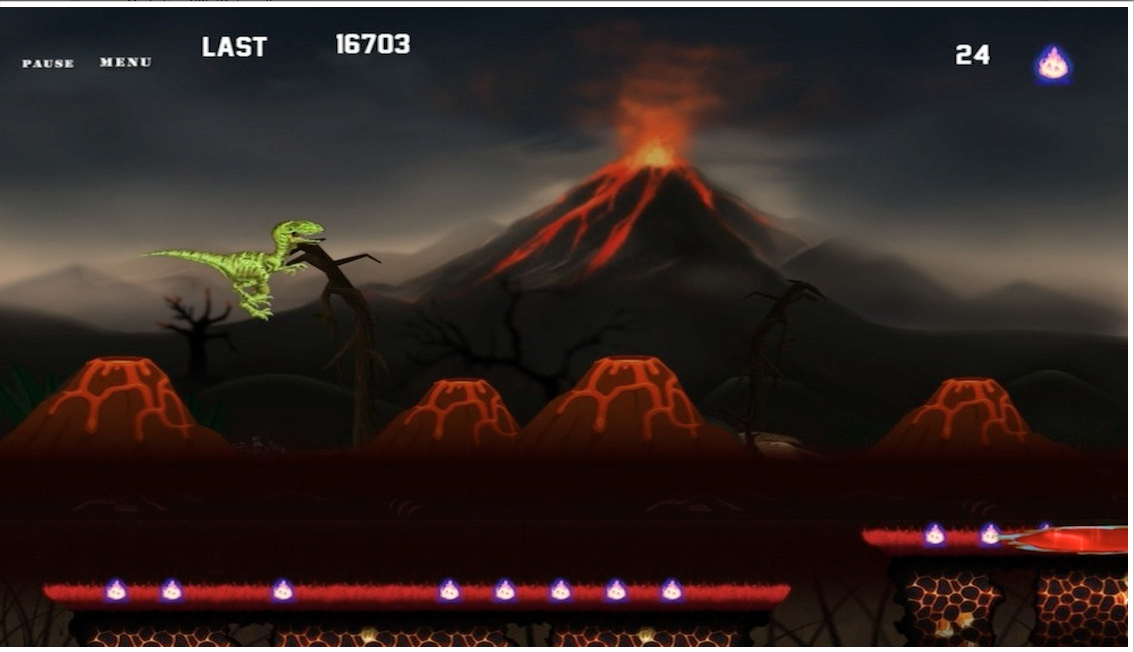 End OF Era - Dinosaur Run - screenshot