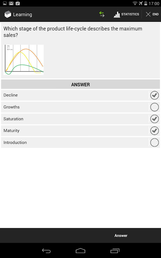 BRAINYOO Flashcard App- screenshot