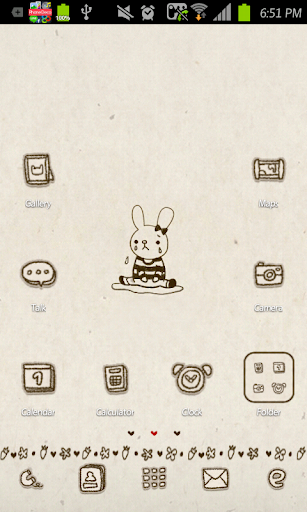 Alone go launcher theme